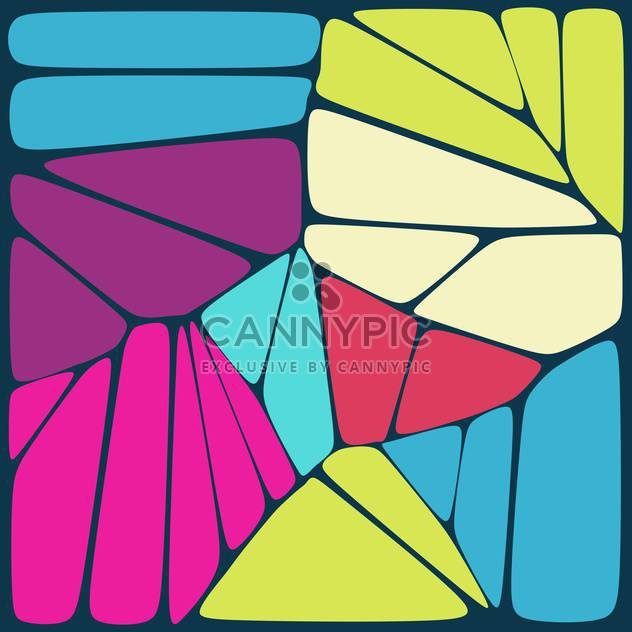 Vector illustration of colorful artistic background - Free vector #125925