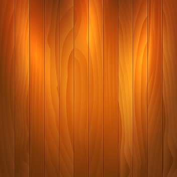 Vector illustration of brown wooden texture background - vector gratuit #125995