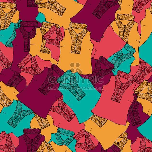 Vektor farbigen Hintergrund mit weiblichen Mode Blusen - Free vector #126175