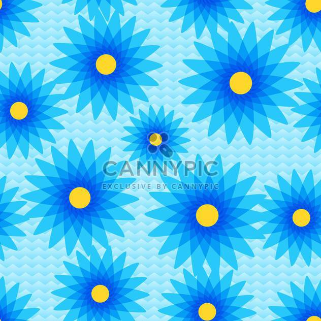 Vector background with colorful flowers with text place - Free vector #126985