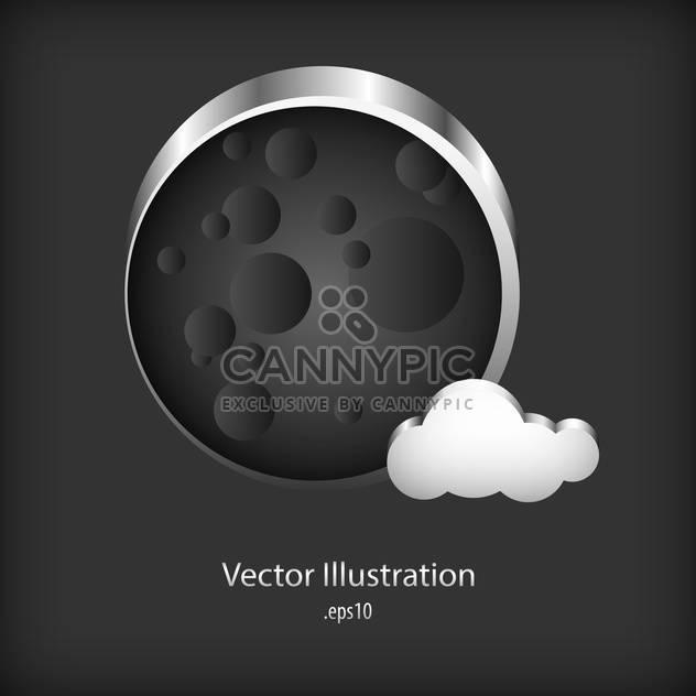Vektor-Sprechblase Metall auf Metall Hintergrund - Free vector #127765
