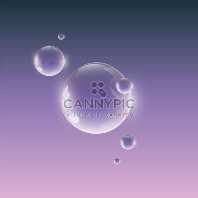 water drops on violet background - Free vector #127885