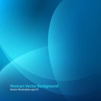 vector illustration of abstract blue background - бесплатный vector #127945