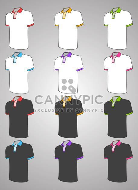 Vector t-shirt design templates - Free vector #128575