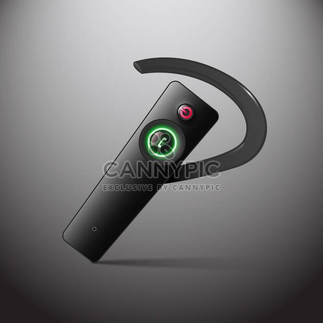 hands free wireless headset - Free vector #129185