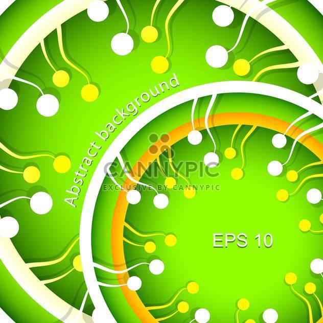 Vektor-abstrakt grüne Frühling-Hintergrund - Kostenloses vector #129325
