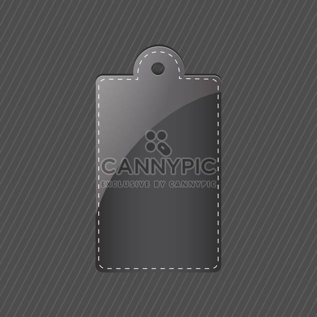 vector black tag vector background - Free vector #130245