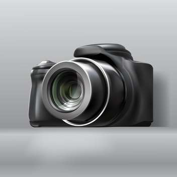 Digital photo camera vector illustration - vector gratuit(e) #130935