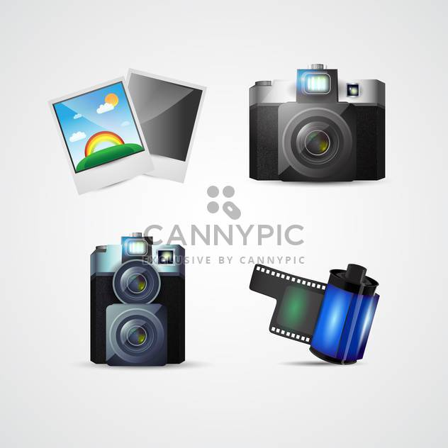 Vector photo icons for web use - Free vector #131095