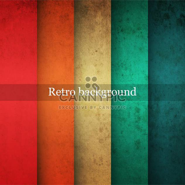 Vector vintage striped background - Free vector #131625