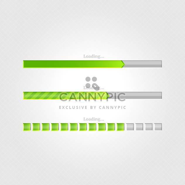 Vektor laden Bars auf grauem Hintergrund - Kostenloses vector #131685