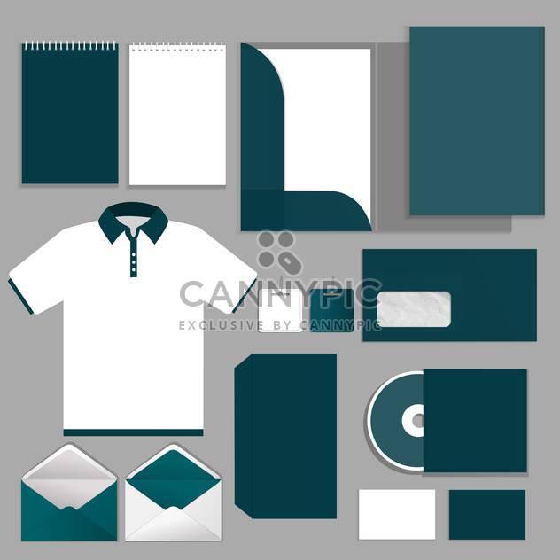 Vektor-Illustration von ausgewählten Unternehmensvorlagen - Kostenloses vector #132115