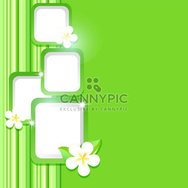 vector summer floral background - Free vector #132485
