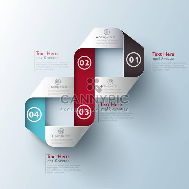 modern business design template - Free vector #132715