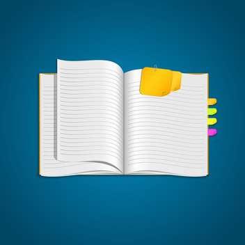 vector open personal organizer - Kostenloses vector #132775