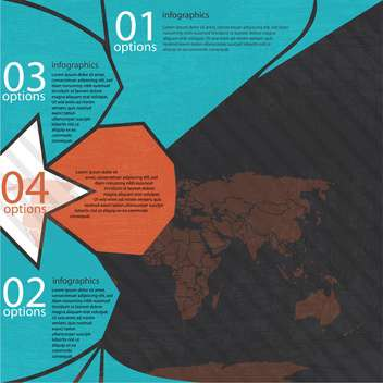 business progress infographic set - Free vector #132945