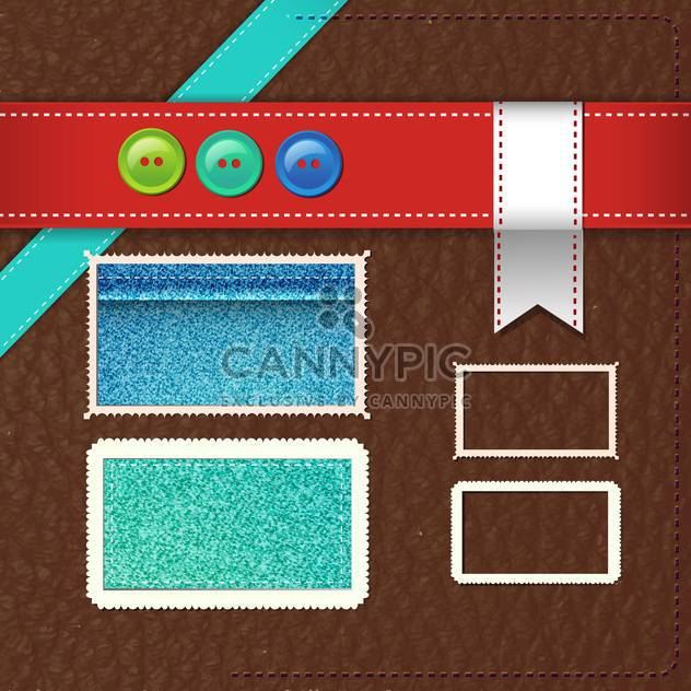 vintage design elements background - Free vector #133235