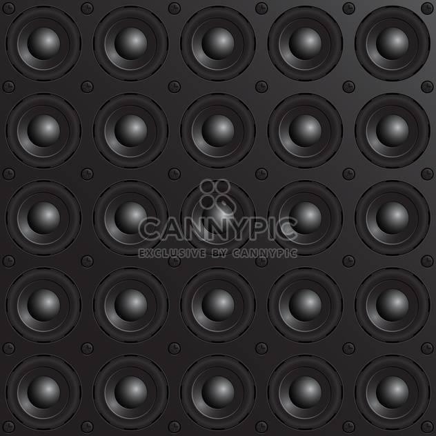 Vektor schwarz Lautsprecher-Hintergrund - Free vector #133295