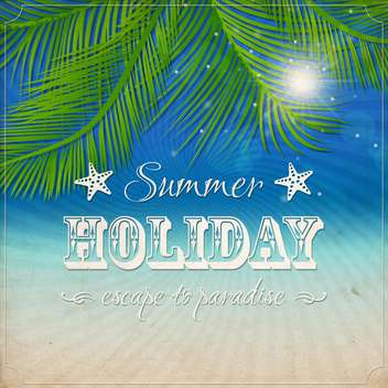 summer grunge textured background - vector gratuit #133865