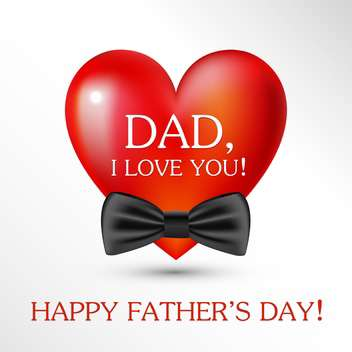 happy father's day card background - vector #133985 gratis