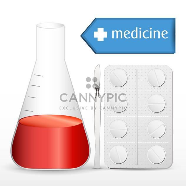 Abbildung der medizinischen Ausrüstung Satz - Kostenloses vector #134005