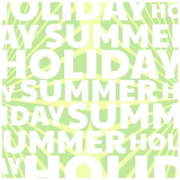 summer holiday vector background - бесплатный vector #134095