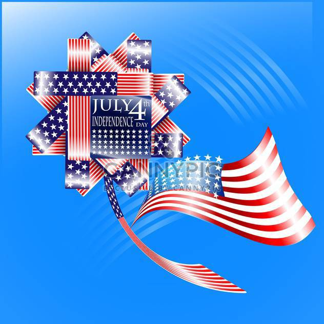 usa independence day illustration - Free vector #134145
