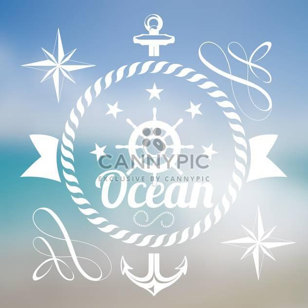 Sommer Urlaub Meer Hintergrund - Kostenloses vector #134195