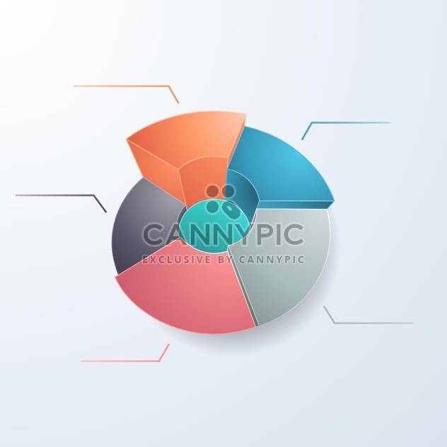 Geschäft-Diagramm mit Platz für - Free vector #134255