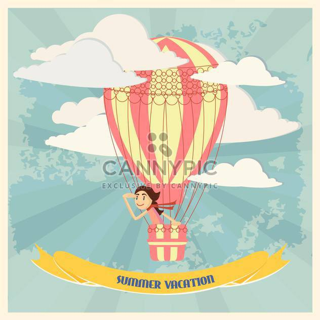 summer vacation holiday background - Free vector #134405