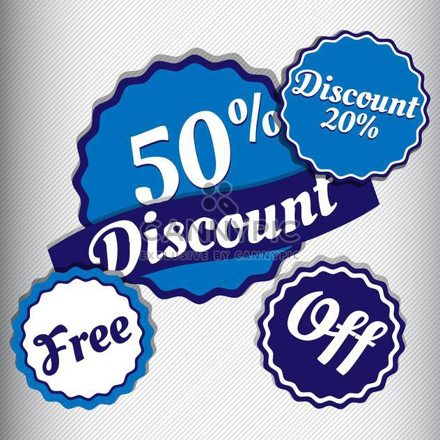 high quality sale labels and signs - Free vector #134425