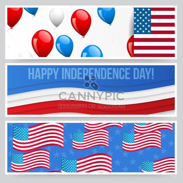 amerikanischen Unabhängigkeitstag-Hintergrund - Free vector #134435