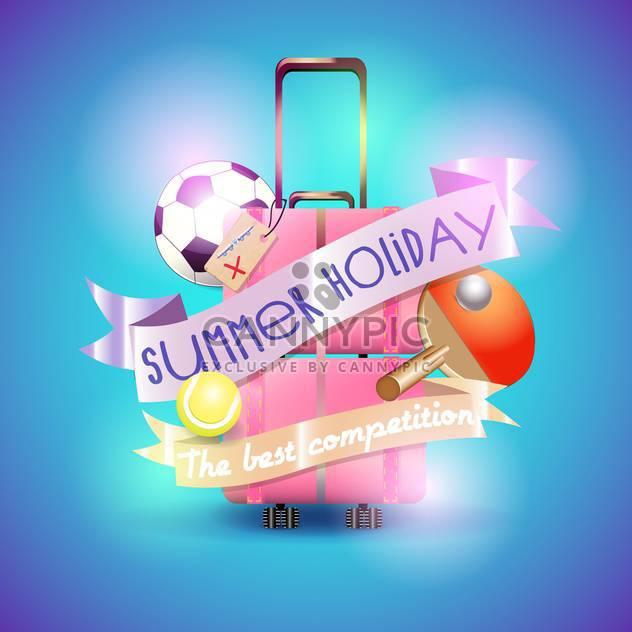 Sommer Urlaub Urlaub background - Free vector #134475