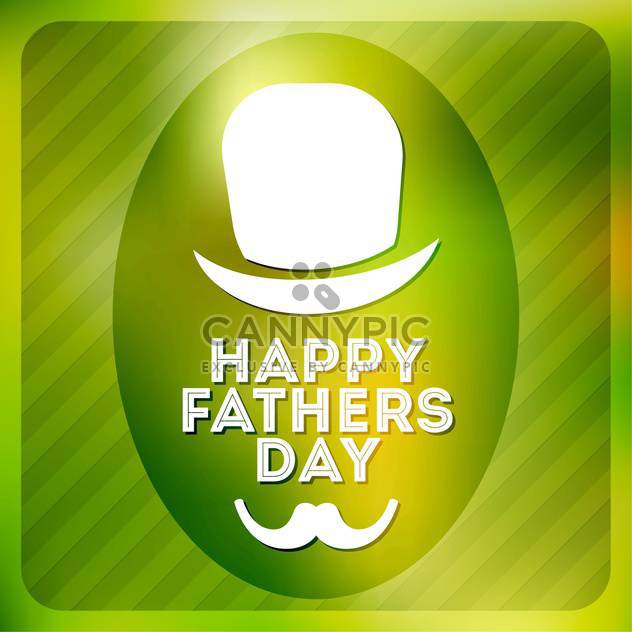 happy father's day label - Free vector #134495