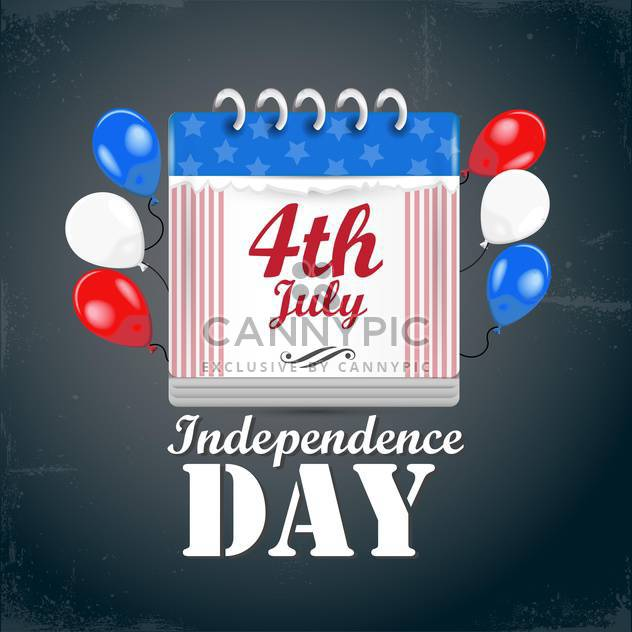 american independence day symbols - Free vector #134525
