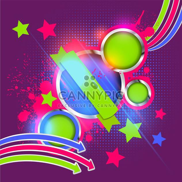 abstract colorful vector background - Free vector #134735