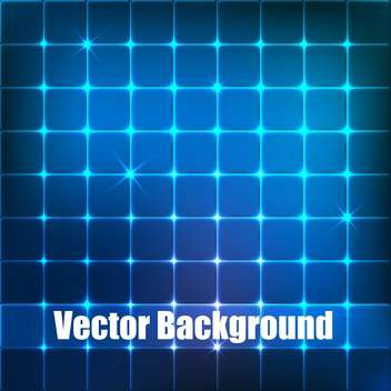vector background with blue squares - vector gratuit #134845