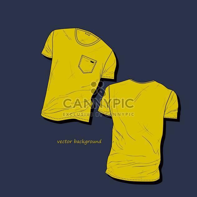 men's t-shirt design template - Free vector #134925