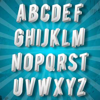 education alphabet set vector illustration - Free vector #134975