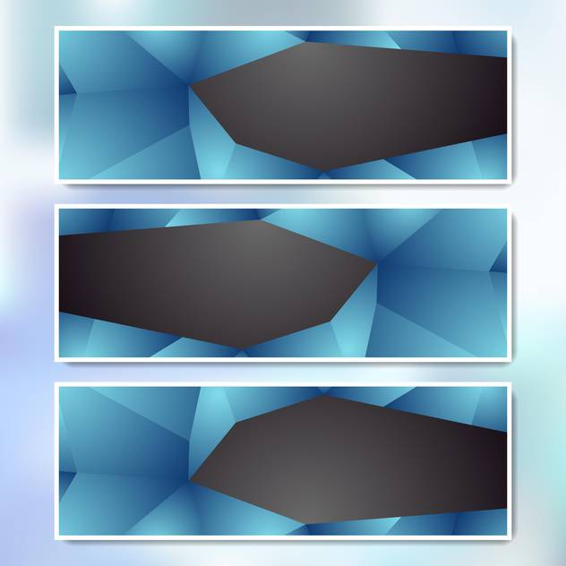 vector set of web banners - Free vector #134985