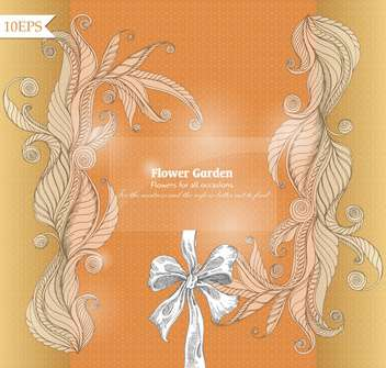 abstract floral vector congratulation background - Free vector #135235