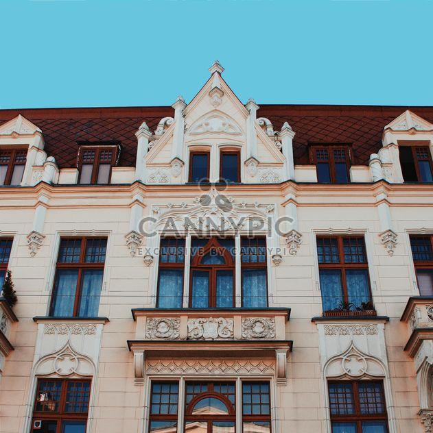 Façade de l'immeuble dans la ville de Lodz - image gratuit #136655