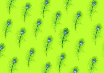 Feather Pattern Vector - Free vector #138715