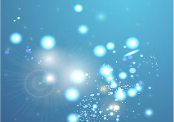 Blue Mystical Background - Free vector #138805