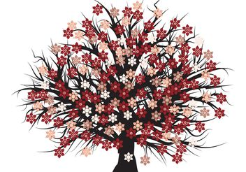 Free vector blossom tree - Free vector #139425