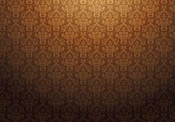 Free damask vector pattern - Free vector #139485