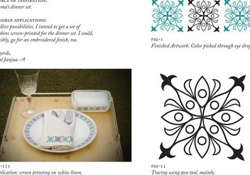 Diner's Ornament - бесплатный vector #139695