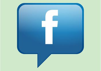 Facebook Bubble - vector #139915 gratis