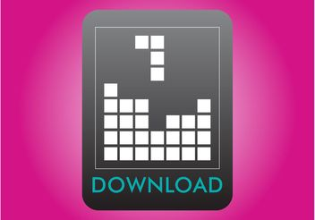 Tetris Icon - Free vector #140215