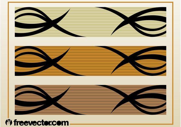 Banners Vector Graphics - vector gratuit(e) #140245